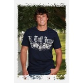 S00155 Men's B Tuff Navy Blue T Shirt